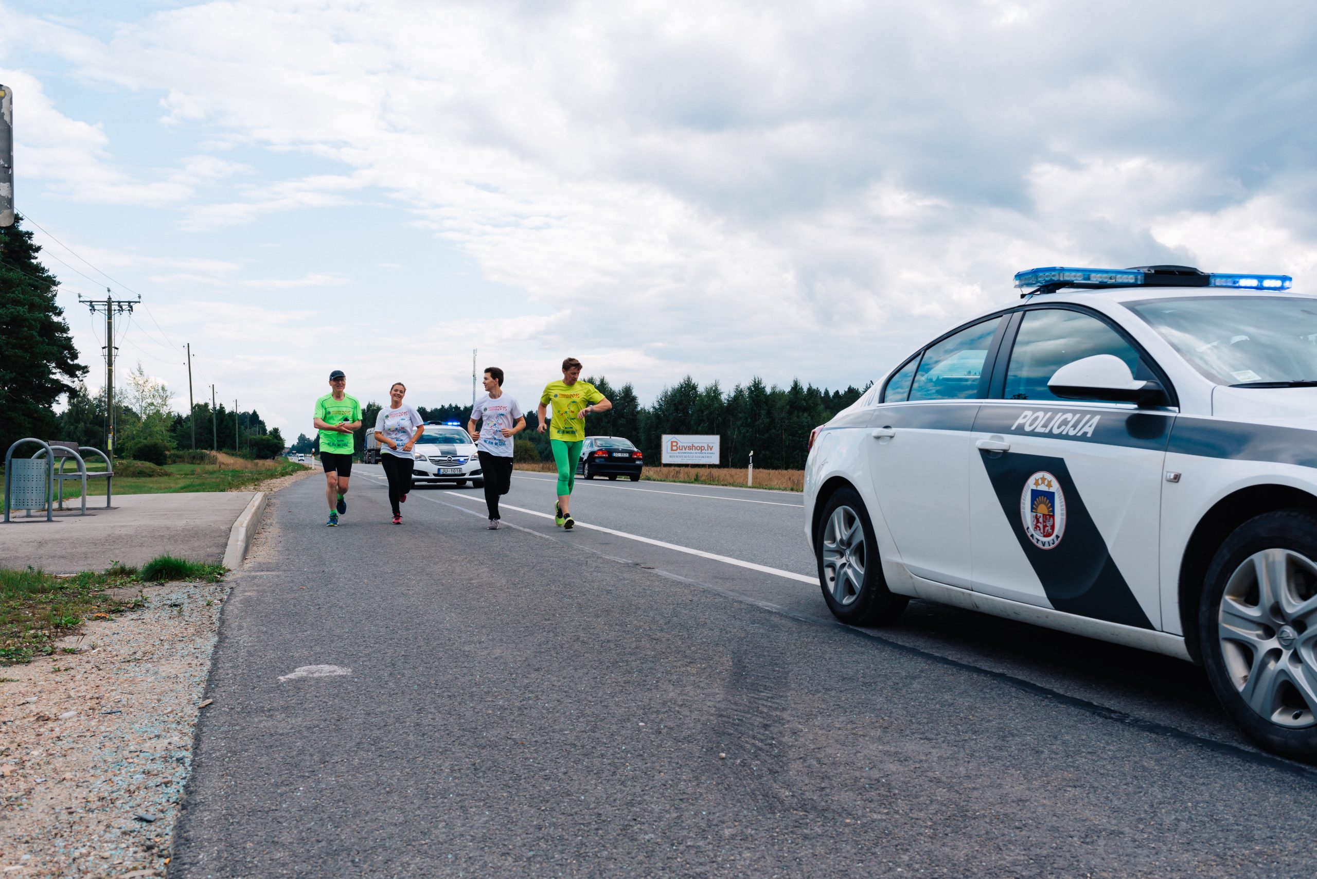 From Warsaw to Riga – Freedom Charity Run