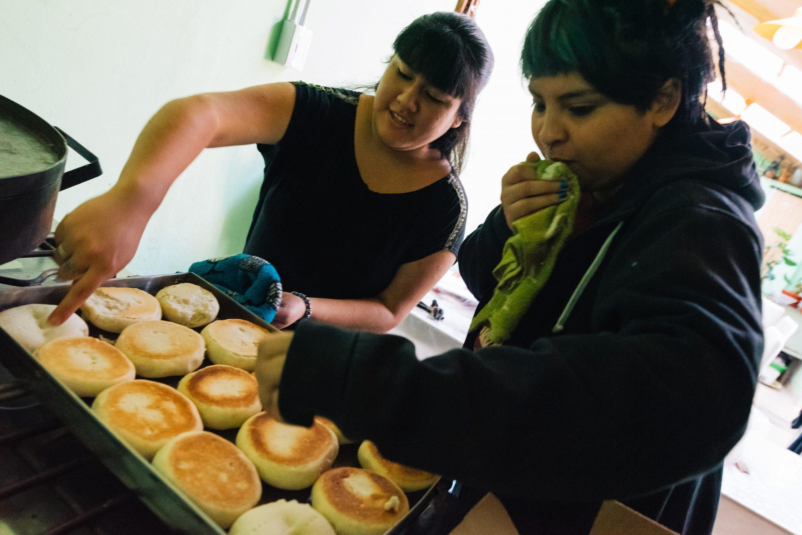 Frisches Brot für Betroffene