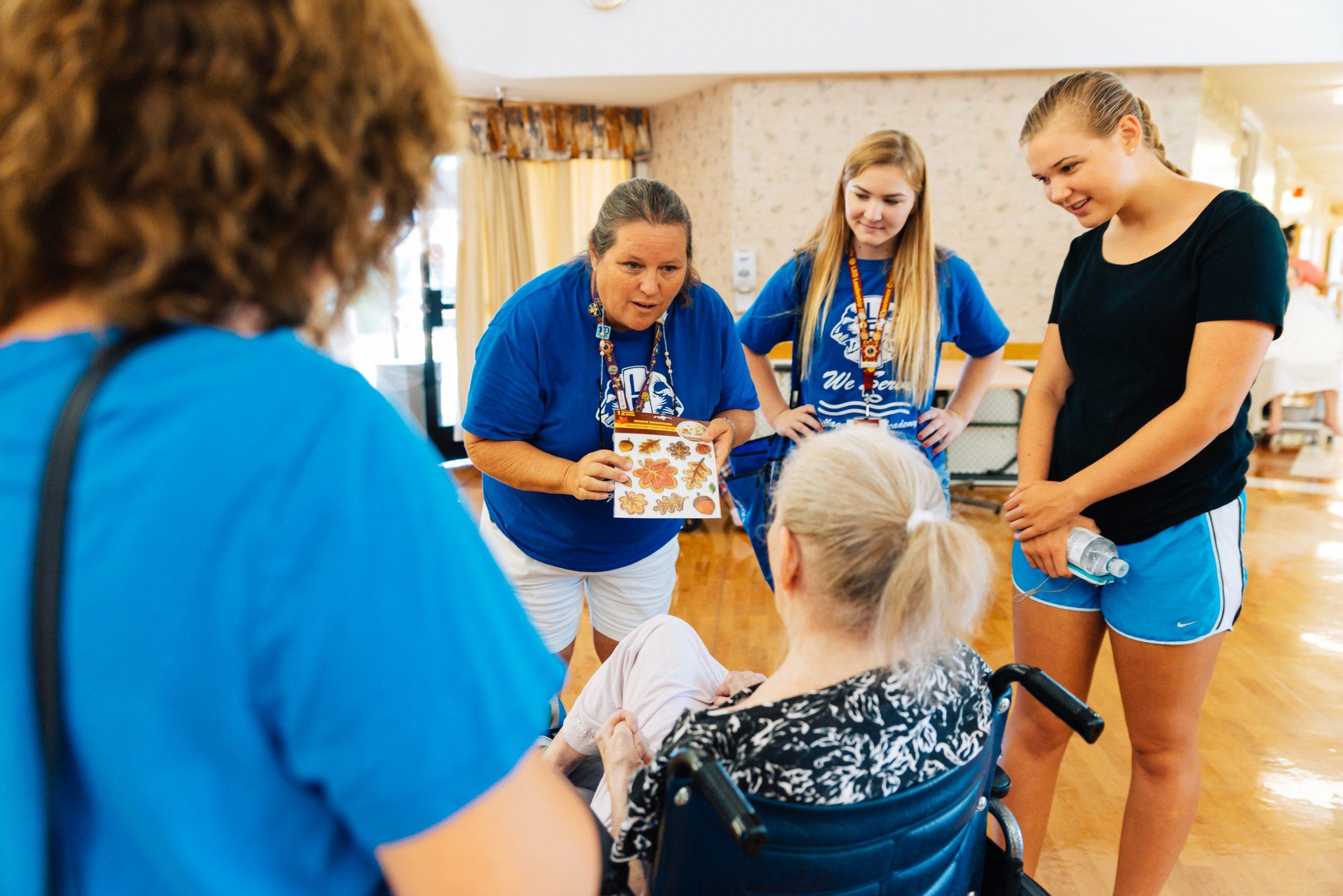 Ein Besuch im Pflegeheim