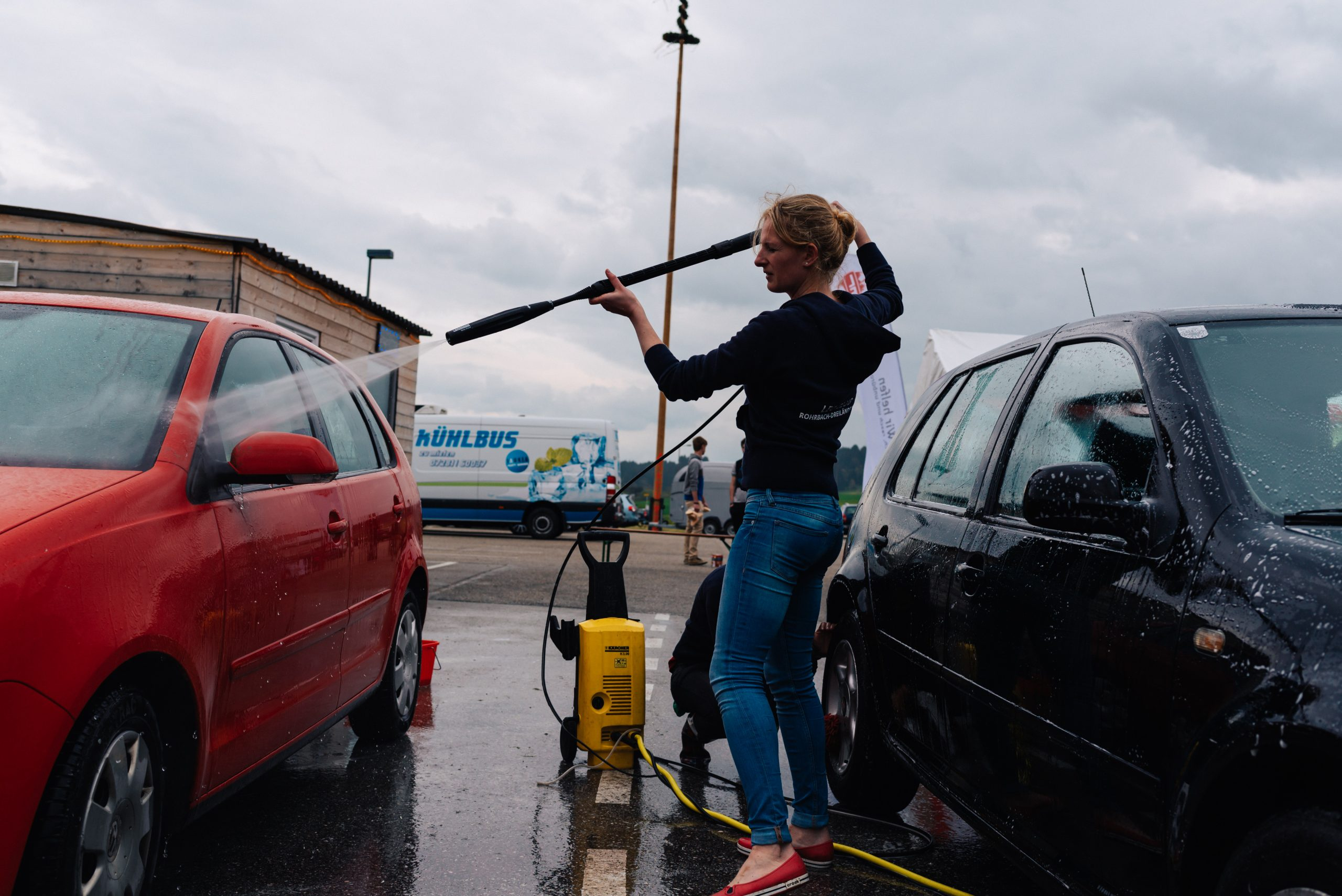 Charity Car Wash Activity