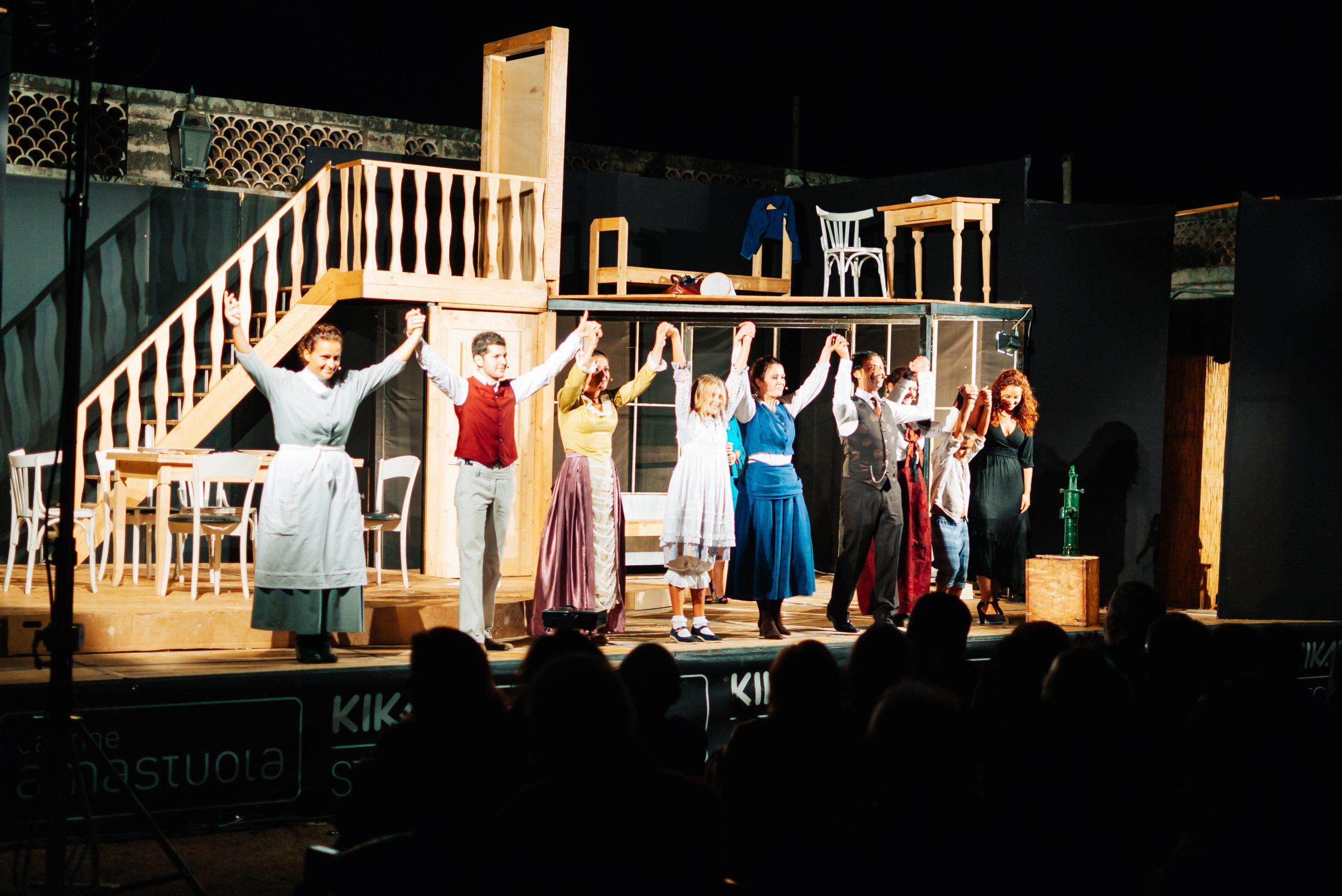 Ein Theaterstück über Hellen Keller