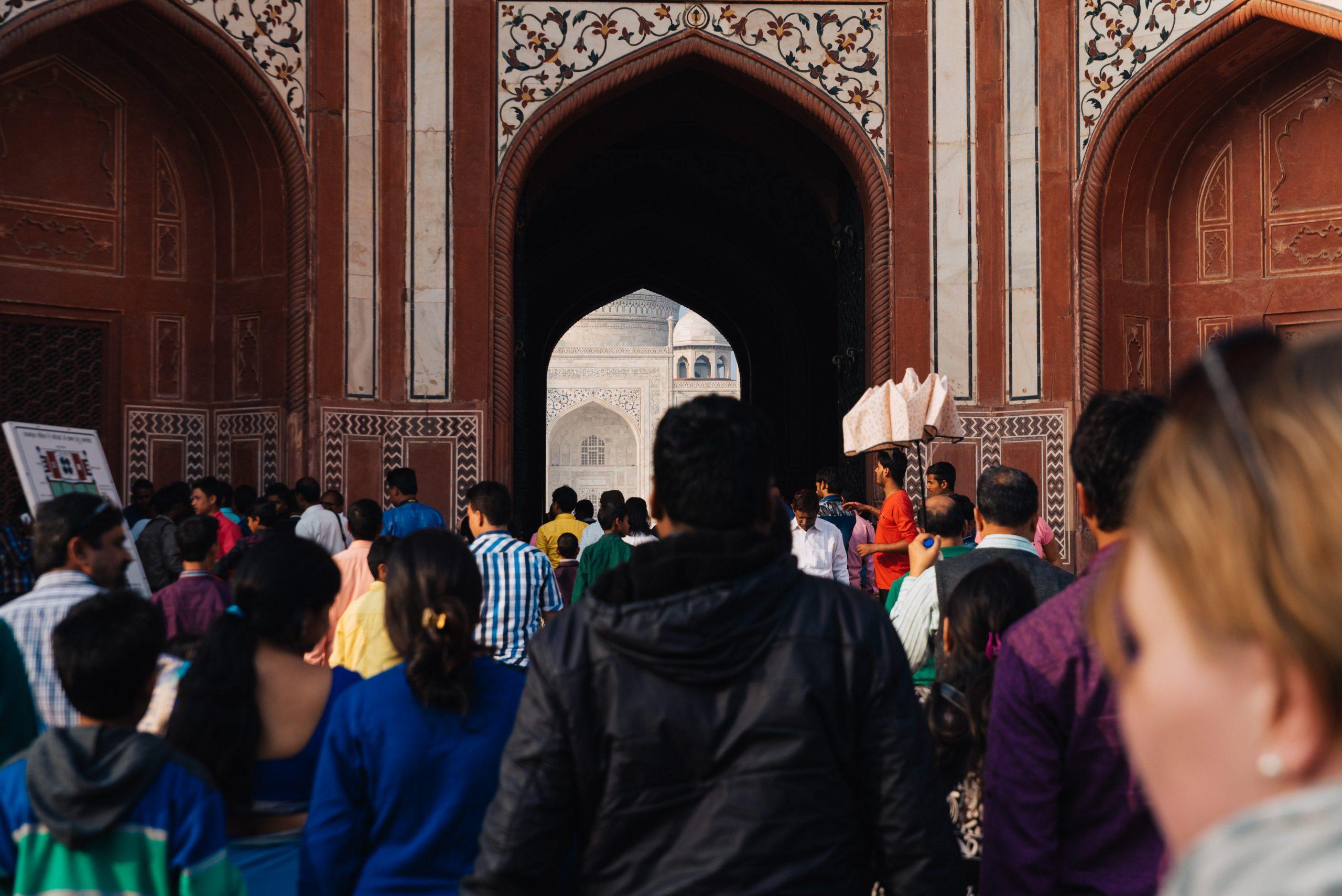 Tagesausflug zum Taj Mahal